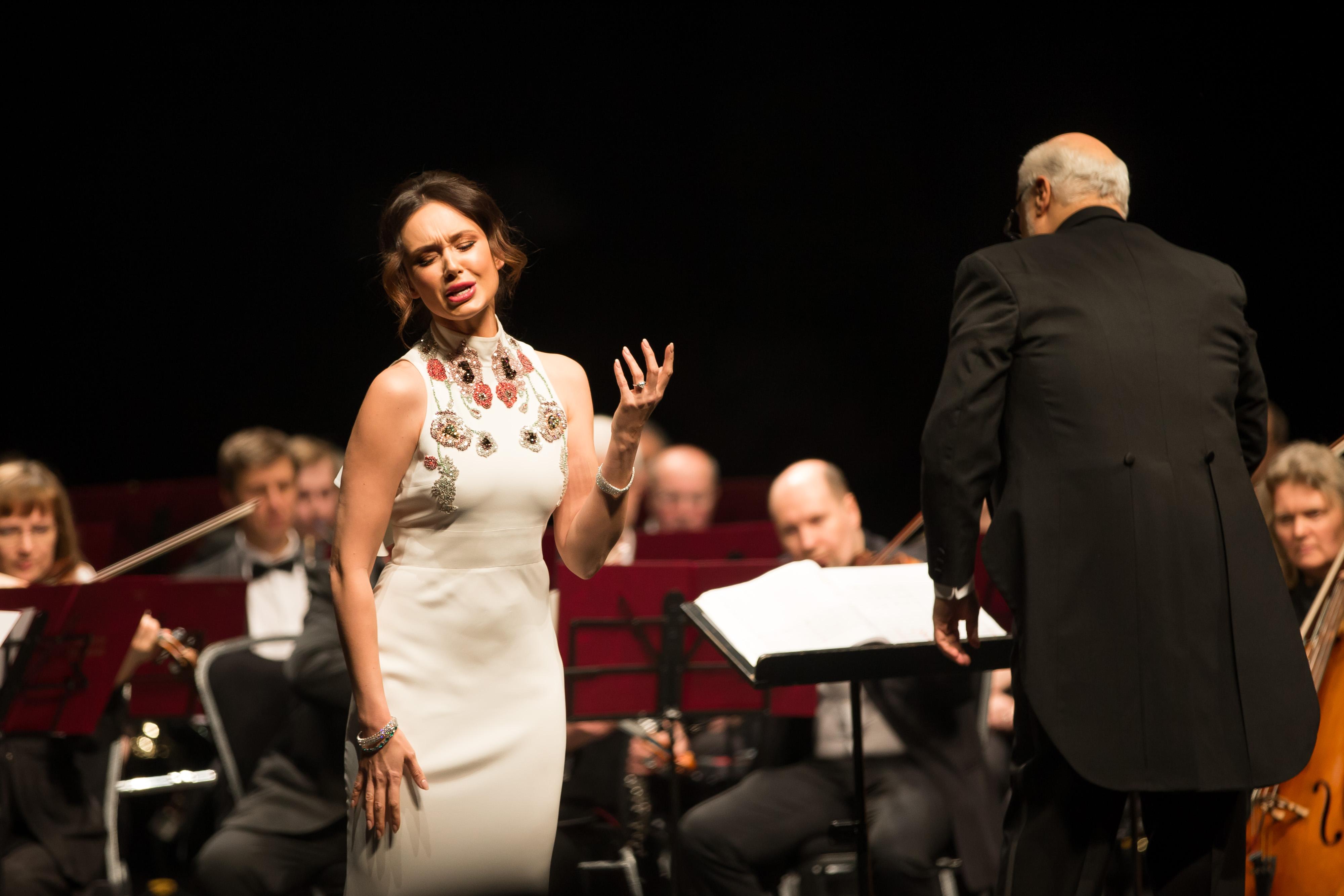 Аида Гарифуллина дала в Москве концерт