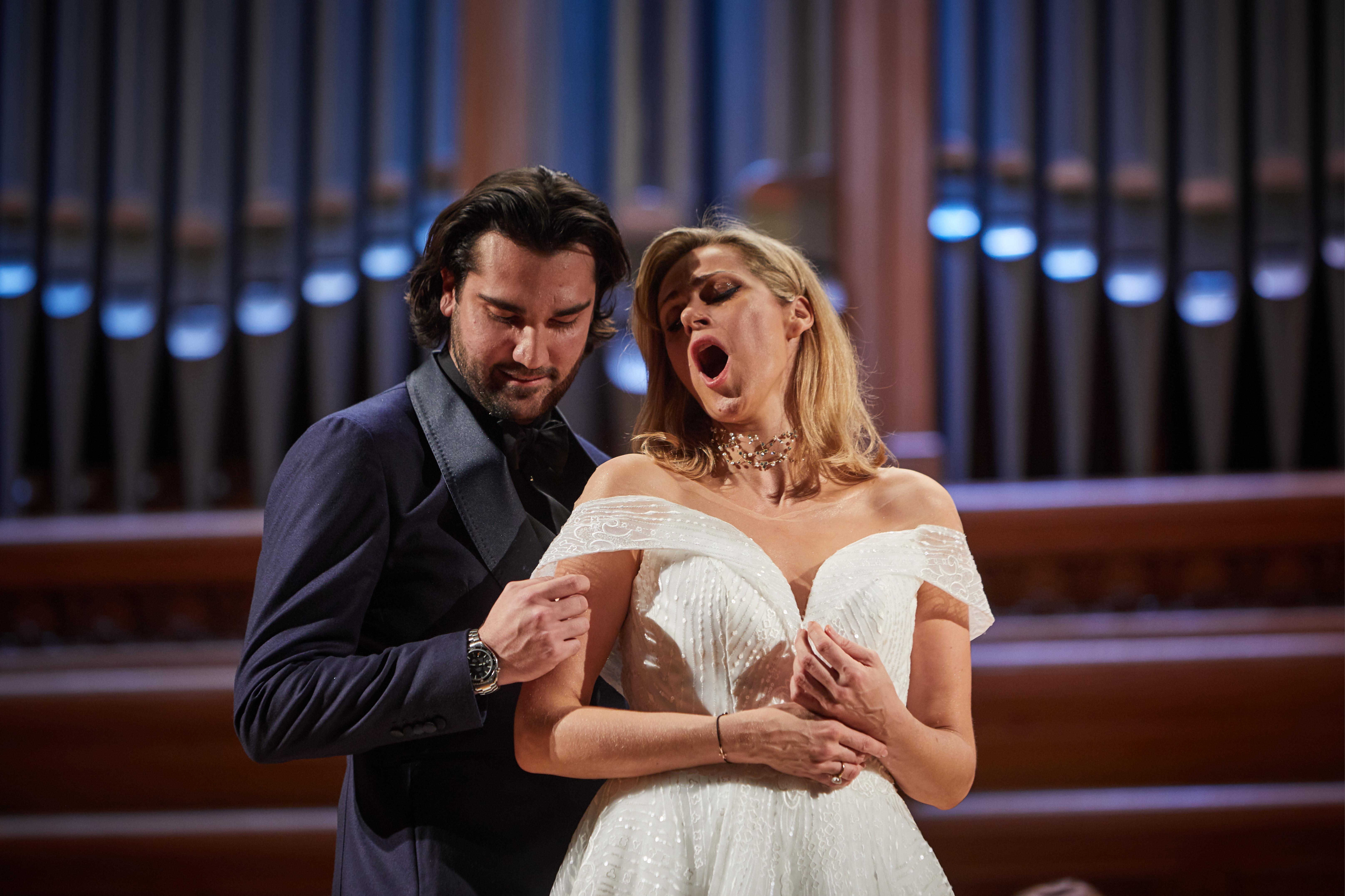 В Москве прошёл сольный концерт Кристине Ополайс, посвящённый Андрейсу Жагарсу